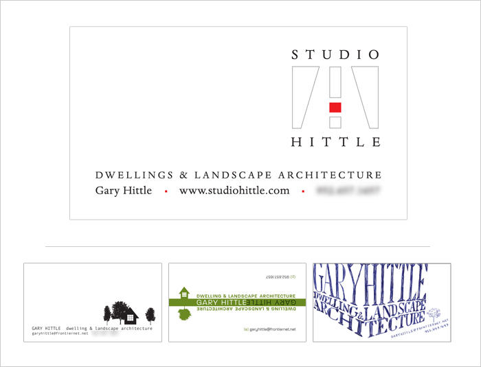 Studio Hittle Business Card
