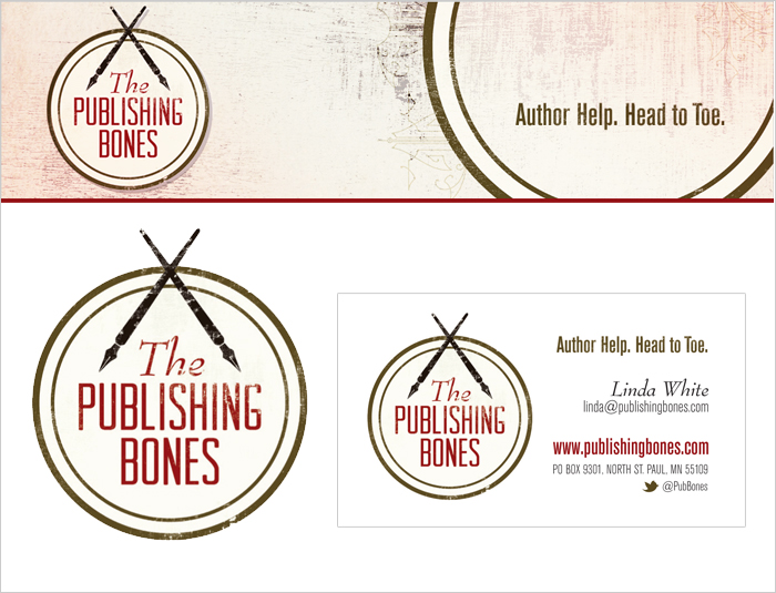 The Publishing Bones Logo