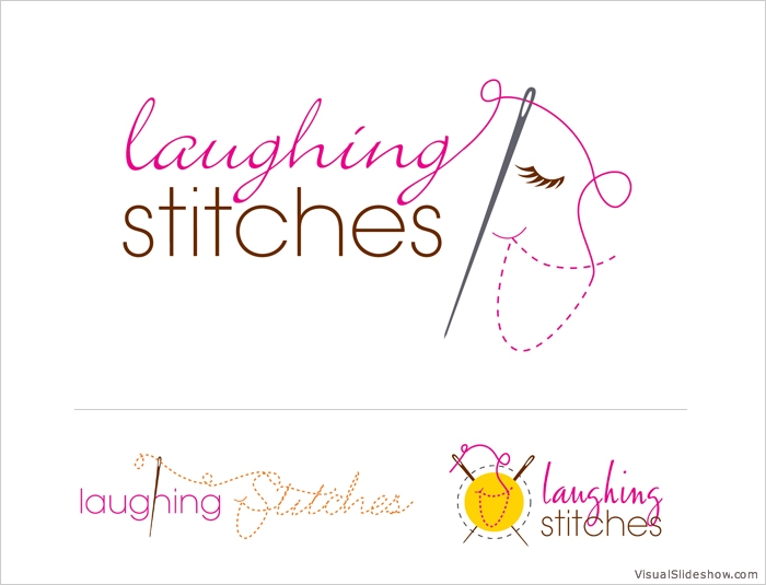 Laughing Stitches Logo