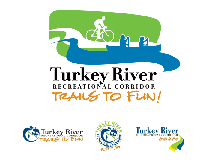 Turkey River Recreational Corridor Logo